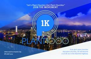 Plant1000 2017 Postcard - Front