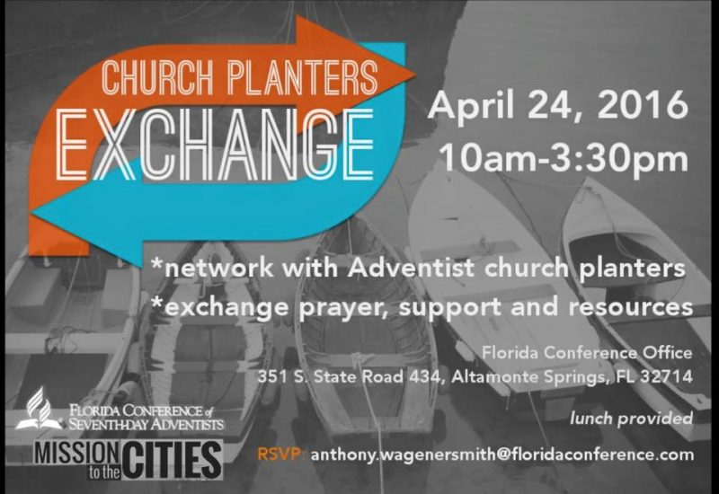 Florida Conference Church Planting – NAD Church Plant 1000 on